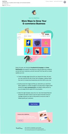 newsletter mailchimp