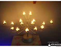 candelabro 15 años 2 Chandelier, Table Lamp, Ceiling Lights, Lighting, Home Decor, Candelabra, Meet, Table Lamps, Decoration Home