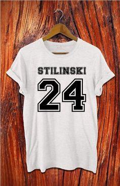 beacon hills lacrosse shirt stilinski shirt black by Alyssioshop