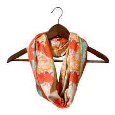 Veda Scarf by Nina Glaser. Love the colors for Spring/Summer!