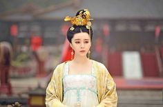 """Fan Bingbing as Wu Zetian in """"The Empress of China"""" Traditional Fashion, Traditional Dresses, Oriental Fashion, Asian Fashion, Wu Zetian, The Empress Of China, Imperial Fashion, Chinese Clothing, Chinese Dresses"""
