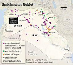 Die Lage in Syrien und im Irak.