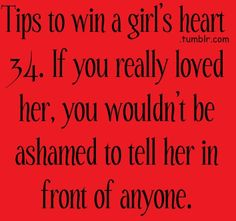 words to win her heart