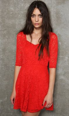 Lace Dress 9025 Red. as you know, red is so in this season
