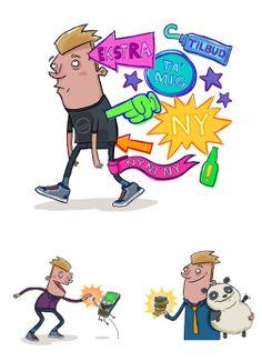Character Design - Aaron Blecha Illustration