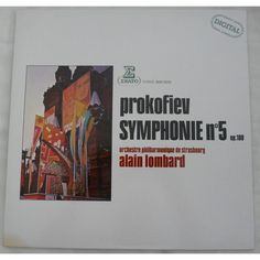 PROKOFIEV SYMPHONIE Nº5 ALAIN LOMBARD VINILO