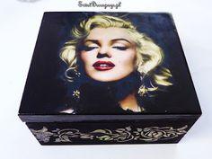 Swiatdecoupage.pl : Marilyn Monroe skrzynka