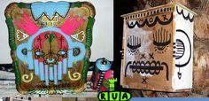 UIU Portugal Confira mais trabalhos aqui. [Zupi] Qual é a sua trajetória? Um cara que nasceu e cresceu nos subúrbios. Se tivesse nascido no campo, talvez fizesse land-art e não street-art. O meio f…