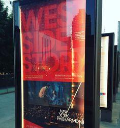 Date night watching one of my favorite love stories at the New York Philharmonic. Sept 13-15. @newyorkphilharmonic