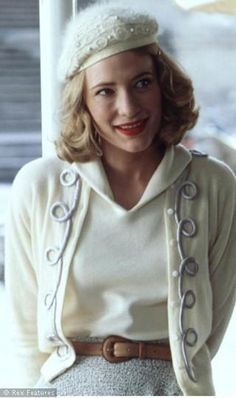 The Talented Mr Ripley -     Cate Blanchett's turn as Meredith Logue, a wealthy fifties heiress, reminded us of the stunning style of the time - cinched waists, pretty pencil skirts and ladylike attire that still has its place today.