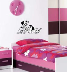 2 Dalmatian Puppies-  --  a Great Decoration for Your Childrens Room.    Very Cute!!!