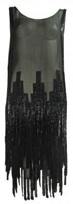 Gabrielle Chanel 1920's Beaded Flapper Dress