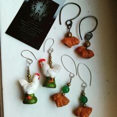 Shop update tomorrow. Some cute little ceramic critters i found and turned into earrings. Hand made raw jewelry bringing us closer to nature. www.etsy.com/shop/BoneDustTower . . . . . #spiritual #love #meditation #metaphysical #yoga #crystals #crystalhealing #spirituality #reiki #wicca #chakras #namaste #goodvibes #pagan #lightworker #boho #witch #enlightenment #hippie #nature #art #peace #healing #music #truth #loveandlight #wiccan #tarot #crystal #instagood