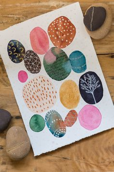 Pattern Abstract Stories in Stones Laura Horn Art Kunstjournal Inspiration, Art Journal Inspiration, Painting Inspiration, Mark Making, Art And Illustration, Illustrations, Medical Illustration, Art Paintings, Watercolor Paintings