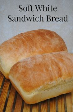 Soft white sandwich bread. Because sometimes, you just want some white bread. Or at least, I do. If you don't, then ignore this pin.
