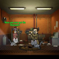 Yes.. I've met him.. I AM the Overseer! #fallout #falloutshelter #gaming #iamtheoverseer