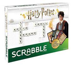 Harry Potter World, Harry Potter Board Game, Harry Potter Universal, Harry Potter Enfants, Scrabble Letters, Version Francaise, Mattel, Word Games, Board Games