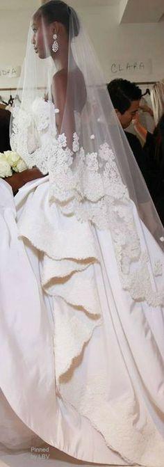 Oscar de la Renta Bridal 2015 | LBV ♥✤ | BeStayBeautiful