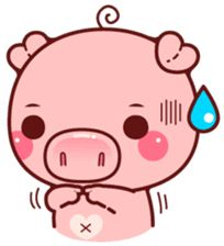 Create your own personal Sticker packs for WhatsApp! Send cool stickers in WhatsApp and spice up the boring group chats! Share single stickers or entire sticker packs! Kawaii Pig, Kawaii Anime, Kawaii Illustration, Children's Book Illustration, This Little Piggy, Little Pigs, Pictures To Draw, Cute Pictures, Pig Images