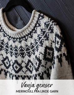 Oppskrift på Vanja genser Christmas Sweaters, Fashion, Moda, Fashion Styles, Christmas Jumper Dress, Fashion Illustrations, Tacky Sweater