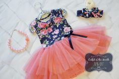Introducing our Outfit of the Month for July!  A beautiful tutu dress for just $10.80 with a FB share!  Perfect for all seasons...pair with sandals for warm weather or a denim jacket and cowgirl boots for the most darling cool weather look!