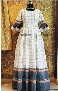 Ashu's media statistics and analytics Salwar Designs, Kurti Designs Party Wear, Blouse Designs, Lehenga Designs, Saree Gown, Sari Dress, Dress Indian Style, Indian Outfits, Long Gown Dress