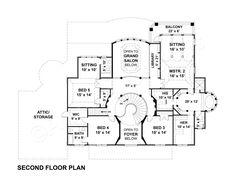Vinius House Plan - Best Selling Floor - House Plan - Vinius House Plan | Archival Designs | Second Floor Plan. FAV!
