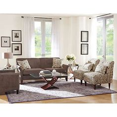 Elle III Collection | Fabric Furniture Sets | Living Rooms | Art Van Furniture - the Midwest's #1 Furniture & Mattress Stores