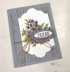 Awesomely Artistic Spellbinders Cards, Stampin Up Cards, Hand Made Greeting Cards, Making Greeting Cards, Friend Cards, Cards For Friends, Friendship Cards, Beautiful Handmade Cards, Creative Cards