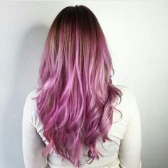 Rose/ Pink Hair Color