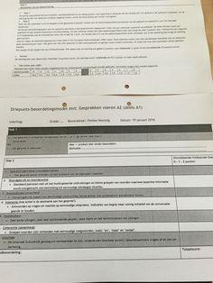 Beoordelingsformulier Cito  leerlijn gesprekken voeren en lezen.