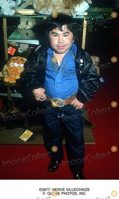 Herve Villechaize, Frence actor (Fantasy Island, The Man With the Golden Gun) 1923-93