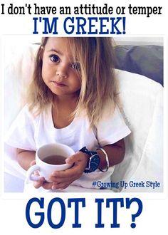 Greek Memes, Funny Greek Quotes, Greek Sayings, Pride Quotes, Baby Posters, Greek Language, Greek Culture, Make Smile, Precious Children
