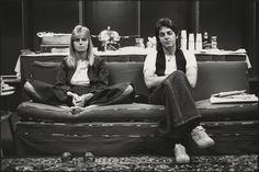 Paul and Linda McCartney via: ivory road.