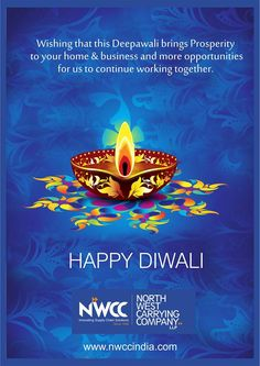 Wish you all a very happy Diwali!!