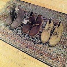 Restocked Clarks Desert Boots clarks | Tumblr