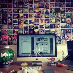 Instagram Wall -So gonna do this room! :)