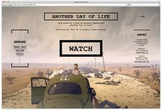 Another Day Of Life Great Websites, A Day In Life, Web Design Inspiration, Masters, Books, Movie Posters, Movies, Livros, 2016 Movies