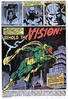 Marvel Origins | Introducing Ultron's creation to destroy the Avengers - The Vision!