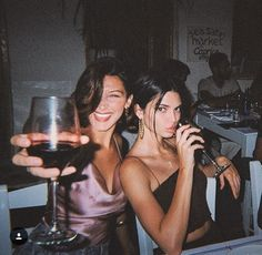 bella hadid and kendall jenner.