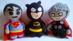 #Batman#Superman#Deedpol#Handmadetoys#Marvel#Comics#superhero#toys#marvelcomics#TheDarkKnight#amigurumi#JusticeLeague#actionfigure#thorhandmade#JusticeLeague