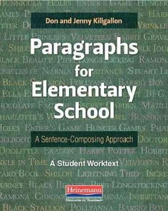 Paragraphs for Elementary School: A Sentence-Composing Approach