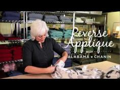 How to Reverse Applique with Alabama Chanin on Creativebug - YouTube