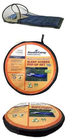 Insect Nets and Repellents 65965: Atwater Carey Mosquito Net And Camping Insect Shield Pop-Up Sleep Screen Dome Tent BUY IT NOW ONLY: $37.42
