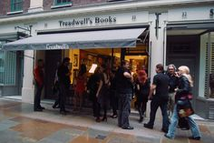 Our lovely guests arriving at Treadwell's