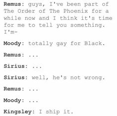 """"""" Blushing, """"that isn't what I was going to say!"""" """"Shut up Sirius! Harry Potter Feels, Harry Potter Comics, Harry Potter Marauders, Harry Potter Ships, Harry Potter Jokes, Harry Potter Universal, Harry Potter Fandom, Harry Potter Hogwarts, Harry Potter World"""