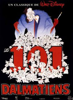 Les 101 Dalmatiens, Wolfgang Reitherman, 1961