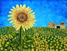 Sunflowers In Provence France ORIGINAL DIGITAL DOWNLOAD by