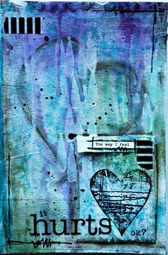Pure therapy…by Miss Marple   Mixed journal pages/fantastic