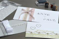 halbachblog I DIY I Hochzeitseinladungen I Bänder I Strass